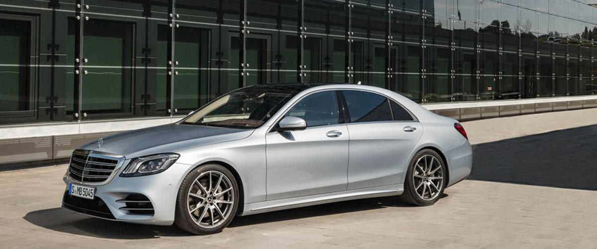 A Designer And All New Mercedes Benz S Class In A Stunning Grey Color