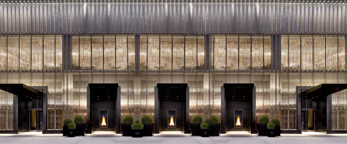 Baccarat New York, New York luxury hotel, NYC hotels, hotels in manhattan, most exquisite glassware hotels in New York