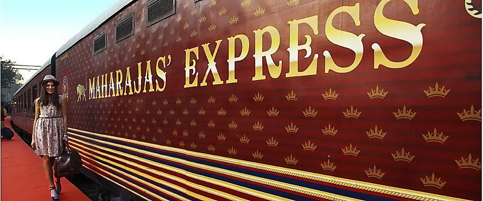 Maharaja express the luxury Indian train, The most luxurious way to travel in India, the luxury train in India