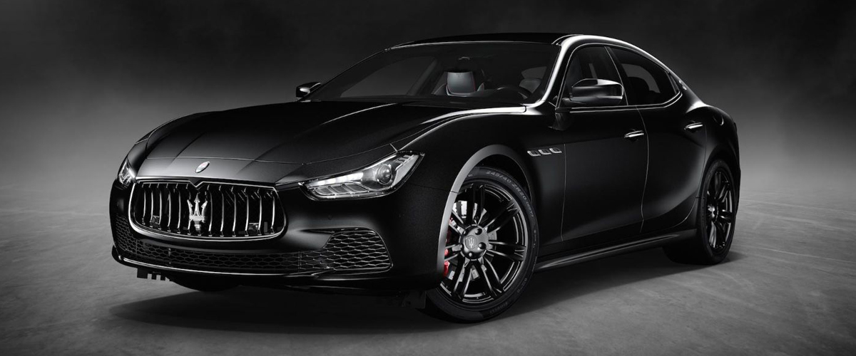 A look at the all new sexy black Maserati Ghibli 2018 that boasts luxury features and defined edges making the car a luxury wonder.