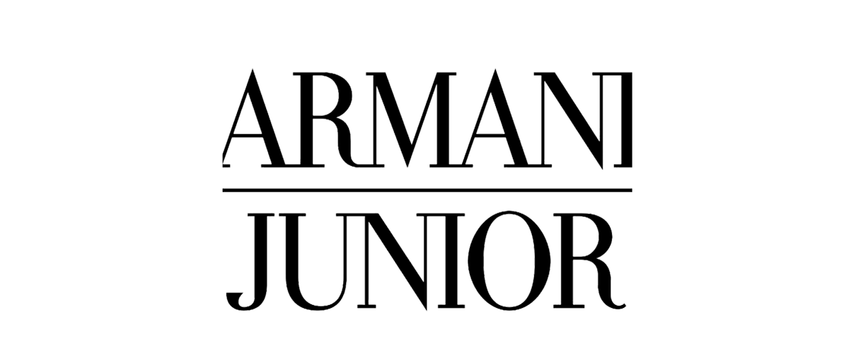 Armani junior, a luxury brand for kids. The brand provides all trendy clothes in small sizes.