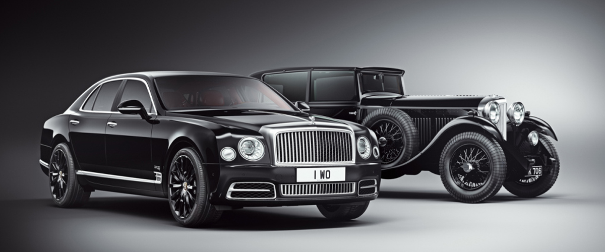 Bentley Celebrates Its Centenary With The Mulsanne W.O