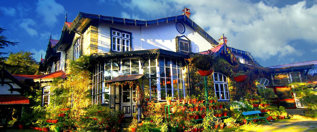 Visit the Chapslee, a lovely heritage hotel in Shimla to travel back to the days of the royals and the Raj