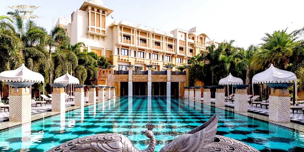 The Leela Palace,Luxury Spas in India