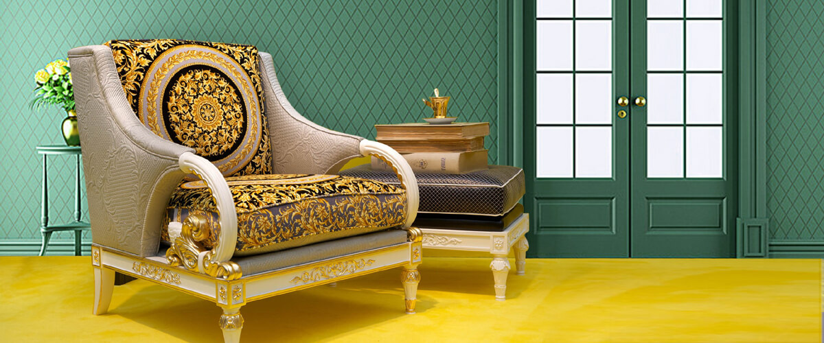 Expect the unexpected with Versace-inspired interiors