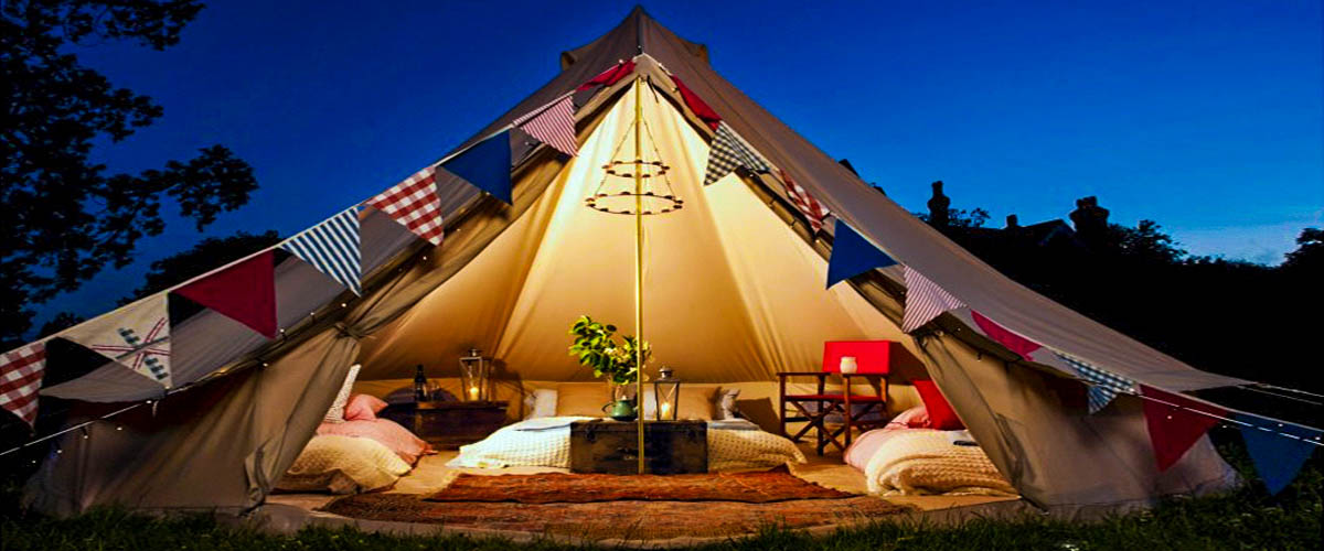 Glamping in Ireland makes for the perfect honeymoon