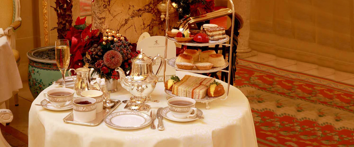An afternoon tea at The Ritz in Bond Street