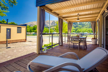 Ježevac Premium Camping Resort KrK Croatia, glamping nature lounge, family pebble beach, open air massage