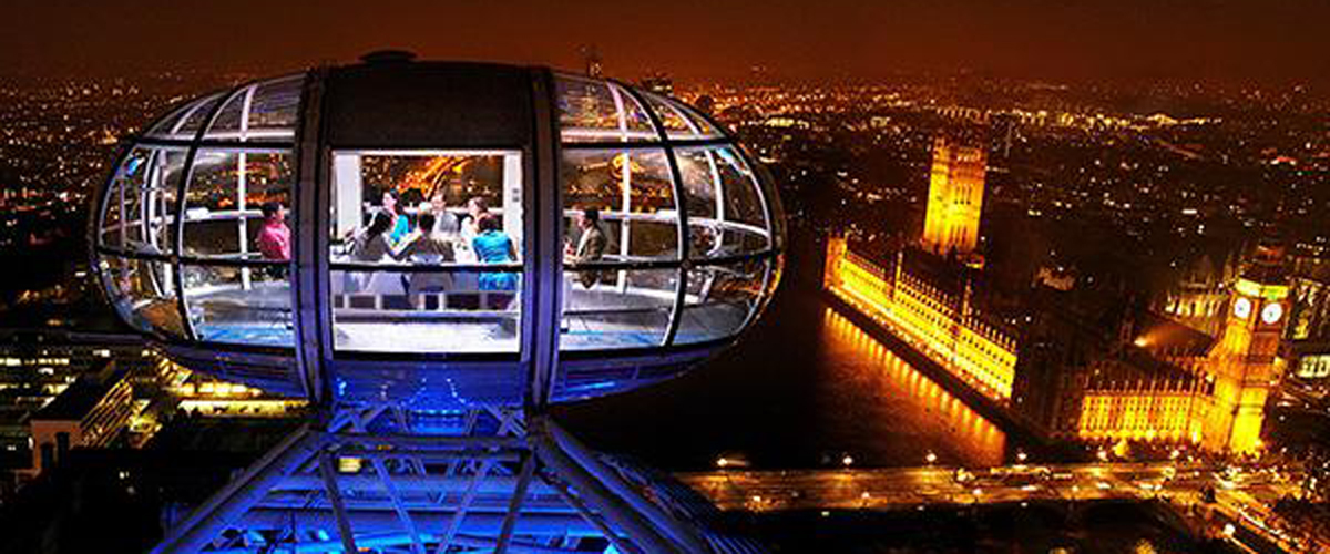 London Westminster bridge road, london restaurants, top of the eye in london, magnificent London eye, Dining at 135