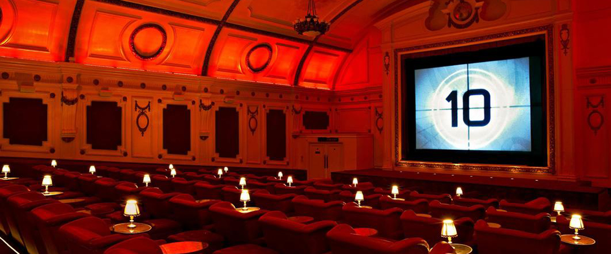 London attraction, things to do in london, electric cinema Notting Hill, old world film experience london