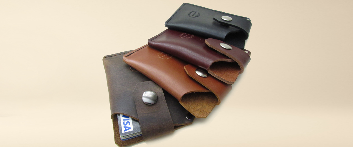 San Filippo, leather card holders, stylish wallets, men card cases, bottle holder bags, aesthetic and stylish leather wallet