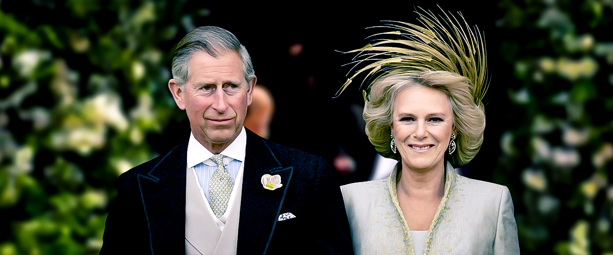 Proudly dressed Prince Charles, the father in law of Meghan along with Camilla Parker dressed in an ice pink coat