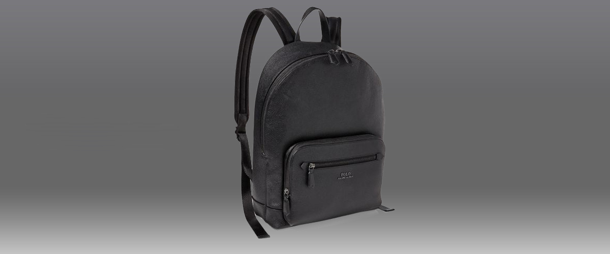 Ralph Lauren leather bag, classic design leather bag, leather backpack and handbag for men, luxury brand