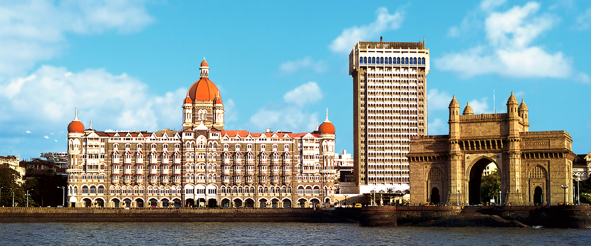 The Taj Mahal Palace Hotel, one of the best heritage properties in India, is a landmark of Mumbai's harbor