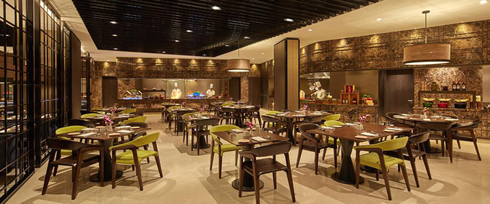 Conrad Bangalore, Caraway kitchen, great places to wine and dine, Indian Mediterranean Japanese, best restaurant Bangalore