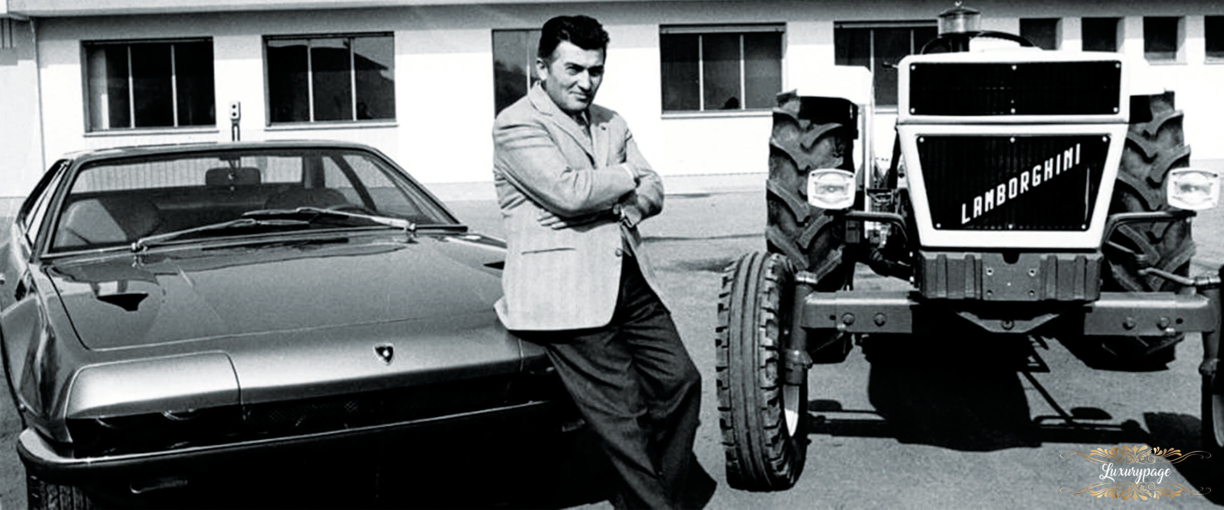 The Incredible Life and Success Story of Ferruccio Lamborghini