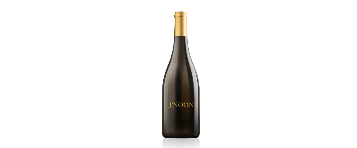 A Black Bottle Of India's Luxury Liquor, The J'noon White Wine