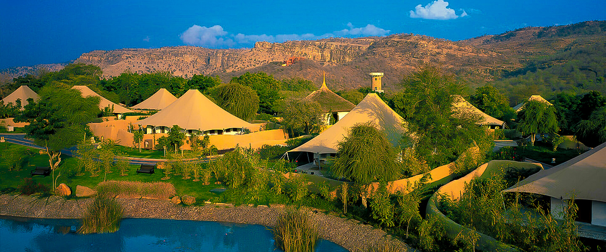 Oberoi vanyavilas, Oberoi ranthambore, best places visit India, tent house in Rajasthan, garden of Eden, water bodies with greenery