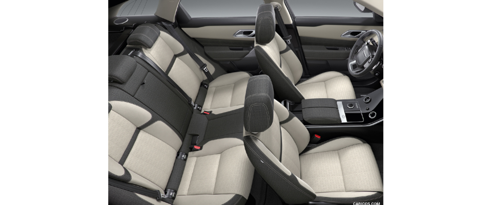 Well Spaced And Commfortable Seating Inside The Velar Suv By Range Rover