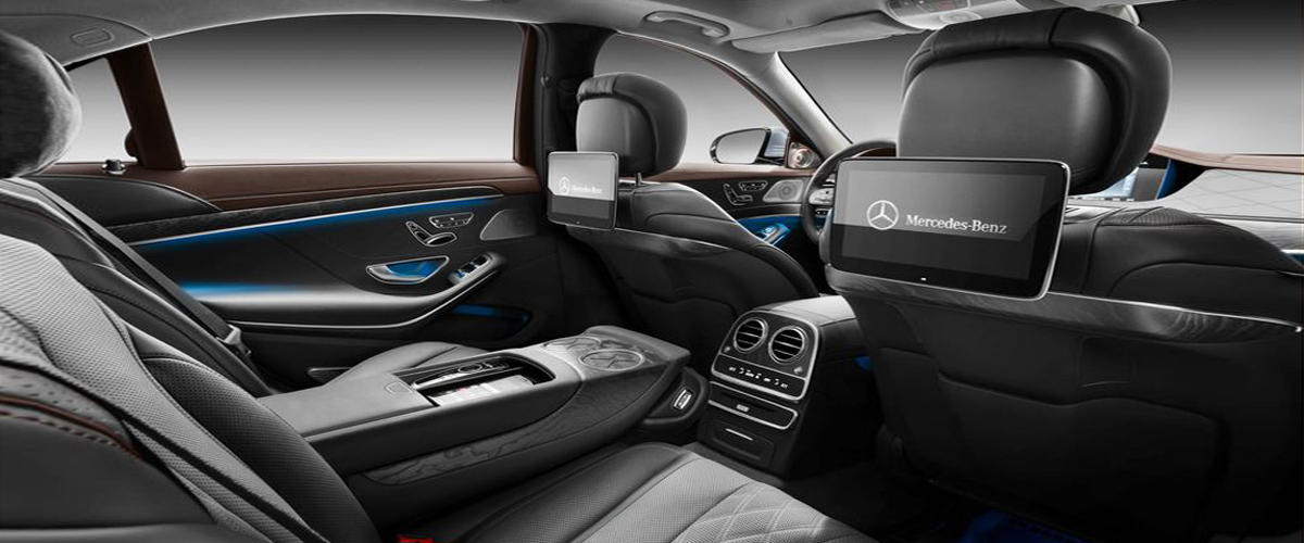 The Lavish And Luxurious Black Interiros Of Mercedes Benz S Class