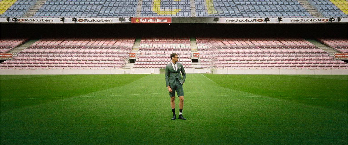 Thom Browne makes FC Barcelona  –  fashionable!