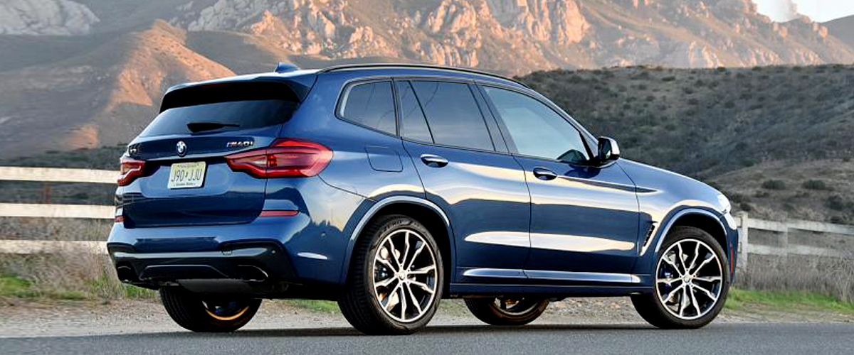 A Stunning New Bmw X3 On The Road, A Luxury Car